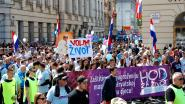Duizenden Kroaten betogen tegen abortus