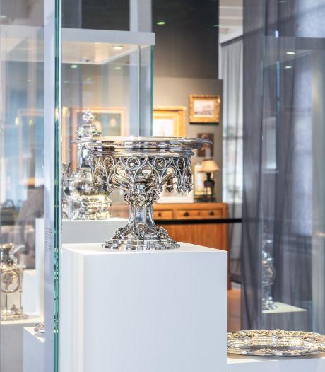 Eigentijds zilver- en glasdesign straks te zien in verbouwd Paleis Soestdijk