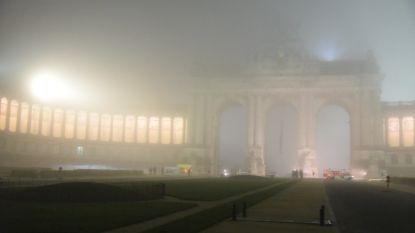 """Man verschanst zich op top van triomfboog in Jubelpark: """"We kunnen niet met hem communiceren"""""""