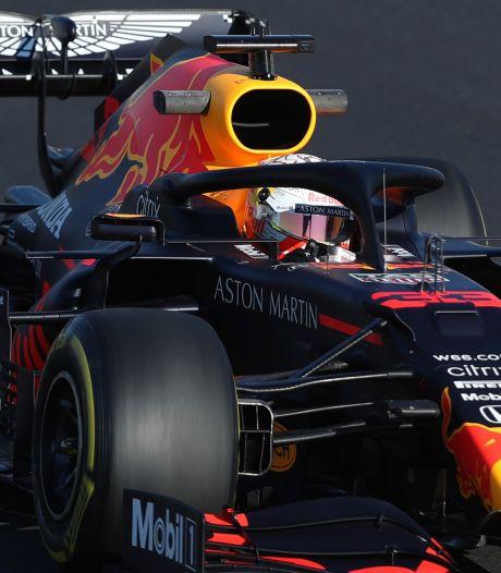 Verstappen ondanks botsing tweede, wederom snelste tijd voor Bottas