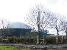 Belgische Fertikal start BioMoer op grens Roosendaal - Bergen op Zoom weer op