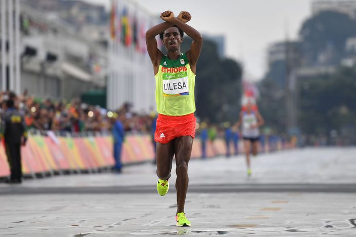 Feyisa Lilesa.