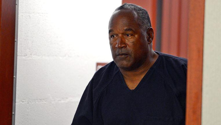 O.J. Simpson in de rechtbank, in 2013. Beeld epa