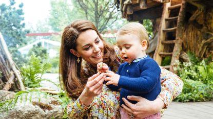 Kate Middleton onthult een van Louis'(1) eerste woordjes