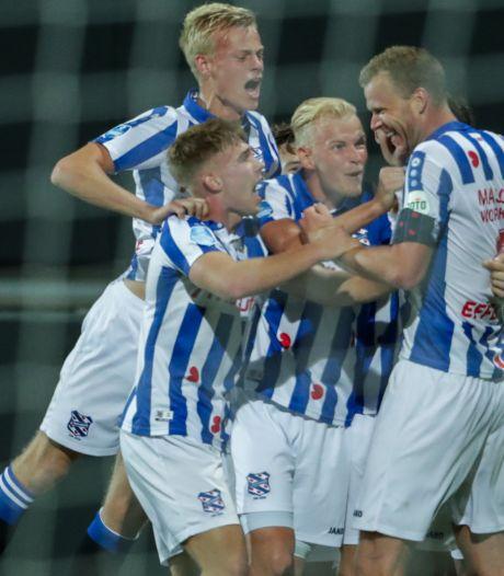 Jan Paul van Hecke maakt winnend debuut bij SC Heerenveen