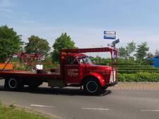 Truckrit Davogé: toeterend door zonovergoten Reimerswaal