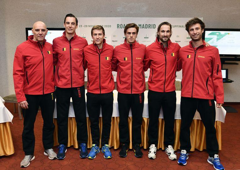 Johan Van Herck, Joran Vliegen, Kimmer Coppejans, Arthur De Greef, Ruben Bemelmans en Sander Gille.