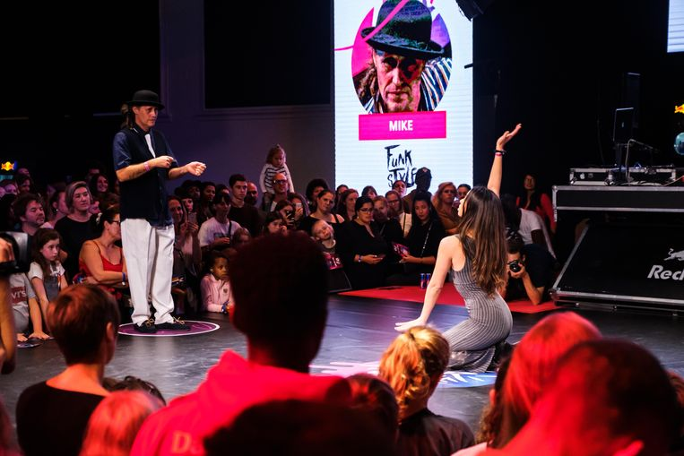 Red Bull Dance Your Style in het Urban Centre in Antwerpen