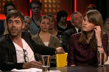 Job Smeets en Nynke Tynagel van Studio Job. VIDEOSTILL
