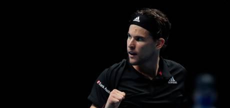 Trois heures de combat et une place en finale: Dominic Thiem impressionne contre Novak Djokovic