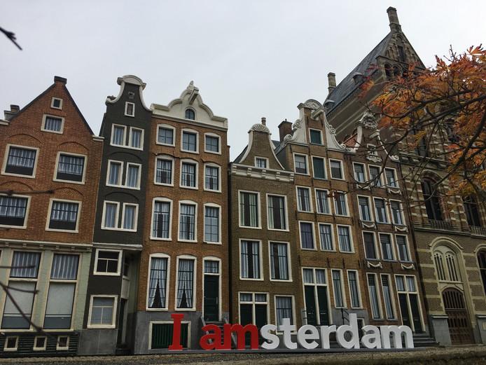De I Amsterdam-letters voor de Jordaan.