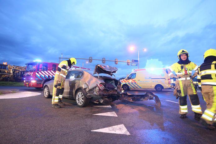 Ongeval op de N831 bij Velddriel.