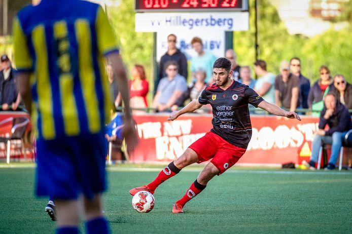 Dogucan Haspolat maakte zaterdag in Zierikzee het tweede doelpunt van Excelsior.