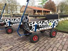 'Jongen en meisje' stelen bolderkar van Osse kinderboerderij