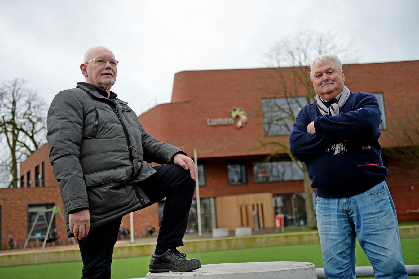 Marinus Gouma en Gerrit Ansink