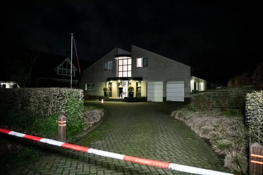 De woning aan de Kerkstraat in Nijmegen waar op 4 maart een ouder echtpaar werd overvallen.