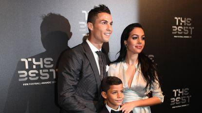 """Vriendin Cristiano Ronaldo: """"Onze dochter heeft ons dichter bij elkaar gebracht"""""""
