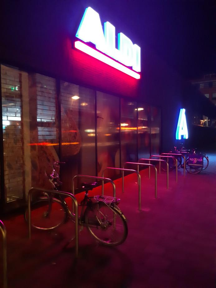 De fiets stond voor de Aldi aan de Kennedylaan in Terneuzen