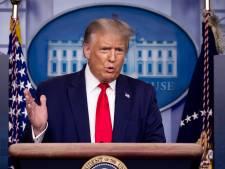 """Trump vante (encore) """"l'excellent travail"""" des États-Unis contre le Covid-19"""
