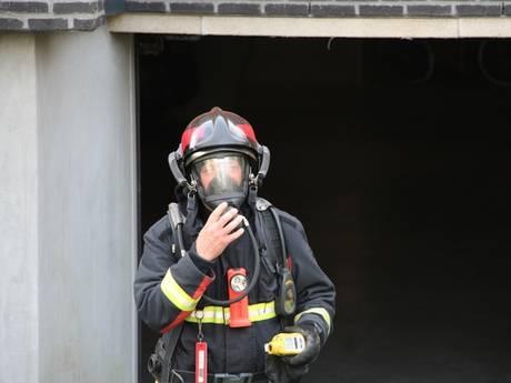 Brand onder appartementencomplex Oostkapelle
