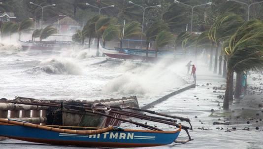 Haiyan is mogelijk de grootste storm die ooit over land heeft geraasd.