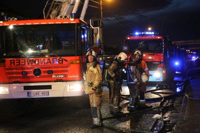 AARSCHOT-brandweer rukte massaal uit