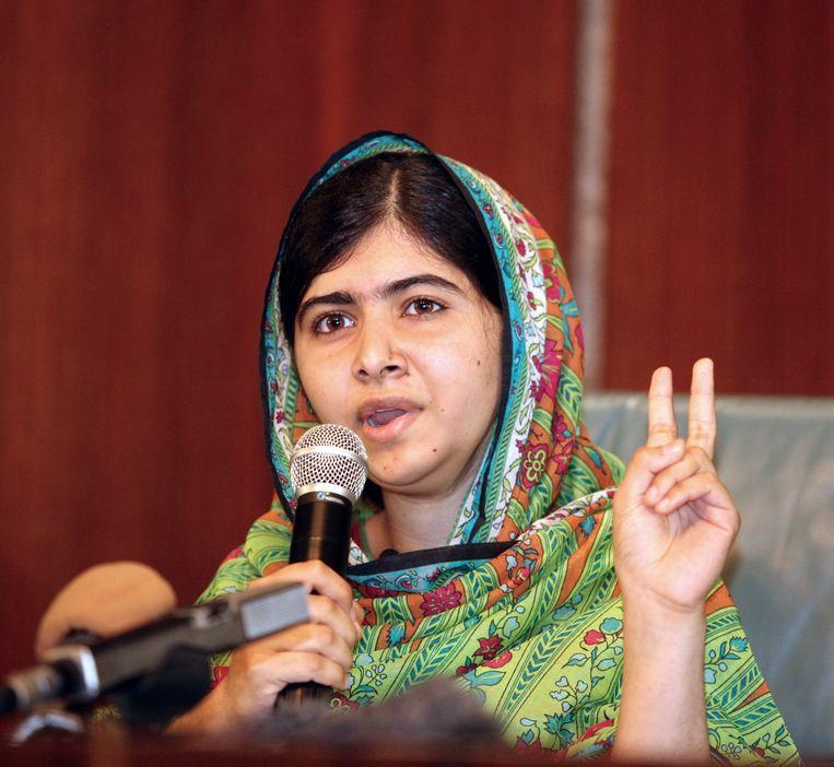 Malala in Nigeria. Beeld AFP