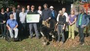 N-VA Mol schenkt 3.000 euro aan Natuurpunt Netebronnen