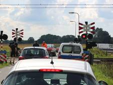 Gevaarlijke situatie op het spoor bij Zenderen