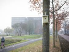 Honderd nieuwe nestkastjes op de Wageningen Campus