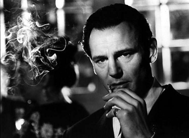 Liam Neeson in Schindler's list Beeld null