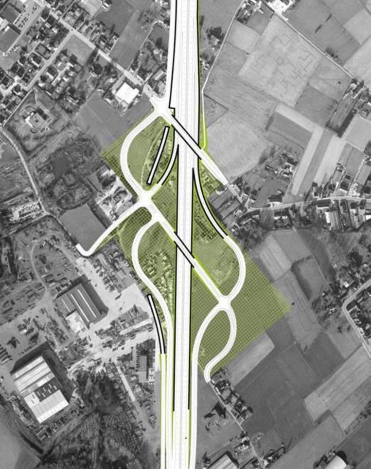 A12 krijgt op en afrittencomplex londerzeel regio hln - Hoe het ontwerpen van een levende ...