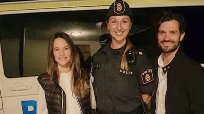Politie spoort hondje van prins Carl Philip en prinses Sofia op