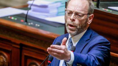 """Peter De Roover (N-VA): """"Ik begrijp Open VLD niet. Paars-groen is onaanvaardbaar in Vlaanderen"""""""