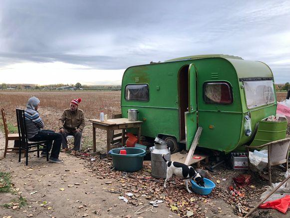 We gingen begin november bij Berre Lauwers langs. Sindsdien zijn zijn levensomstandigheden nog verslechterd.