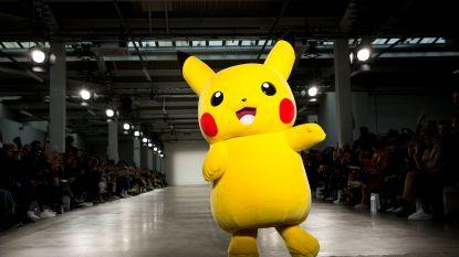 Pokémon stelen de show tijdens de mannenmodeweek in Londen
