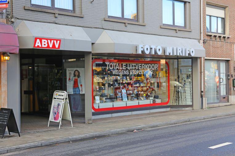 Foto Mirifo in de Nieuwstraat in Asse.