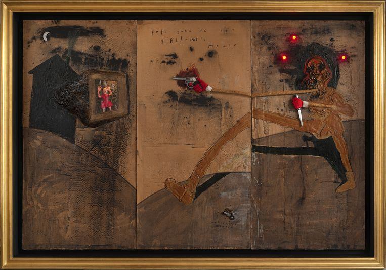 'Pete Goes To His Girlfriend's House' (2009). Beeld Bonnefantenmuseum Maastricht