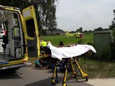 Wielrenner zwaargewond na ongeval Groesbeek