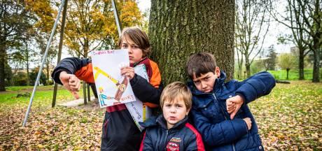 Zijn protesttekeningen hielpen niet: Valentijn (10) kreeg hartverzakking van grootschalige bomenkap