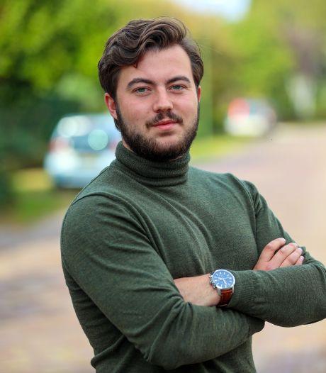Andrej van Hout (22) uit Veldhoven verruilt studentenkamer voor partijbureau PvdA