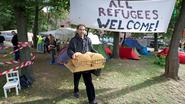 """Organisatoren doeken tentenkamp op: """"Wij zijn niet het alibi van de regering"""""""