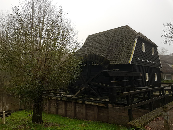 De Genneper Watermolen in Eindhoven.