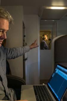 Ron van Dulmen uit Eefde komt met de studio naar de stem