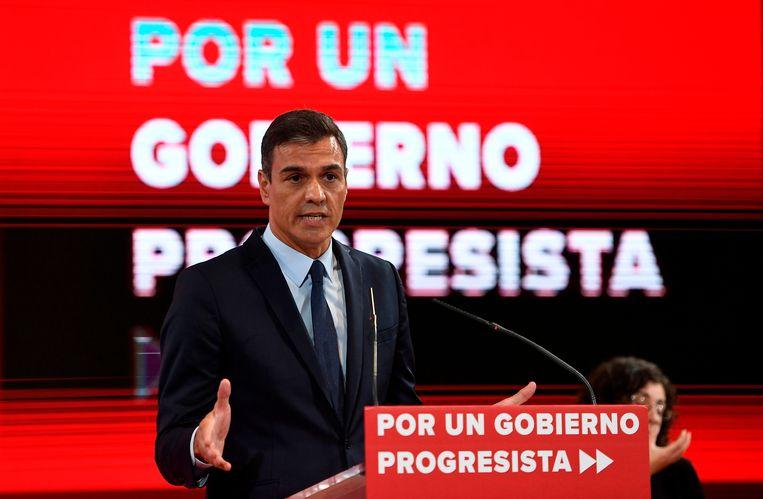 De sociaaldemocraat Pedro Sanchez slaagt er voorlopig niet in een regering te vormen.
