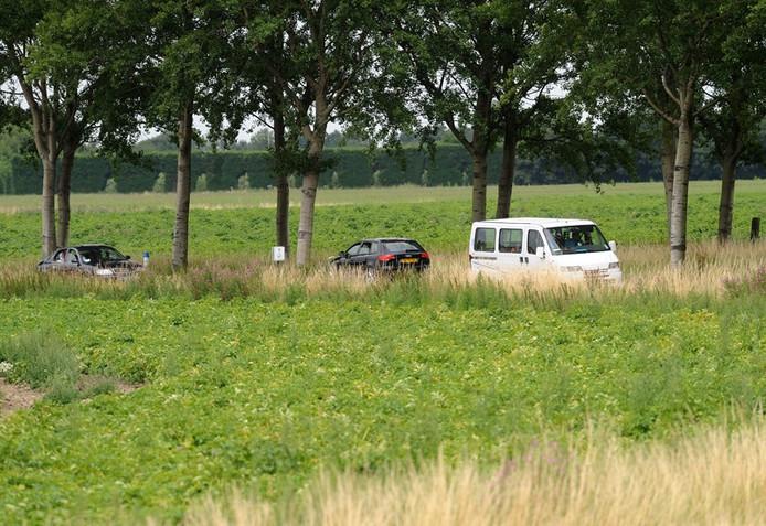 De Abbekindersezandweg in Kloetinge. foto Willem Mieras