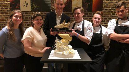Hans Vanaken viert Gouden Schoen in 't Vijfde Seizoen in Aalter