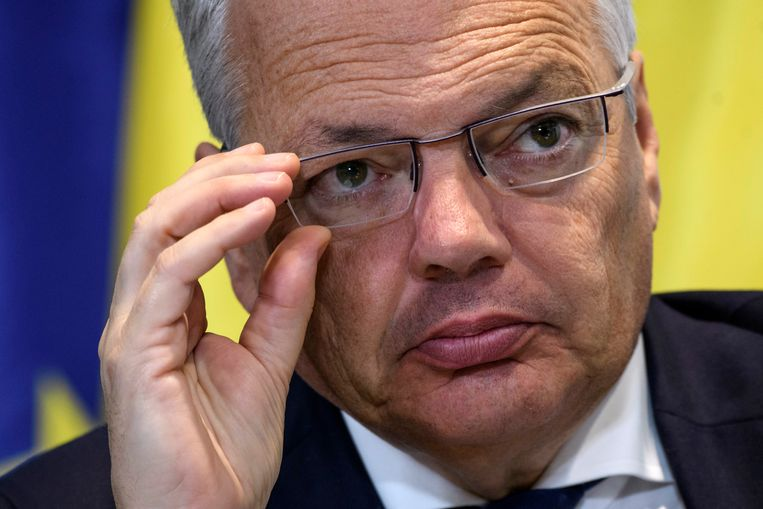 Minister van Buitenlandse Zaken Didier Reynders (MR).