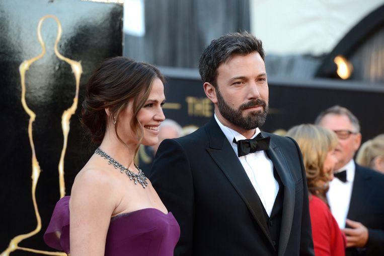 Ben Affleck en zijn ex-vrouw Jennifer Garner.