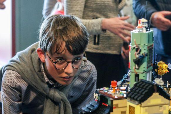 LEGO, dat is alle details in u opnemen.